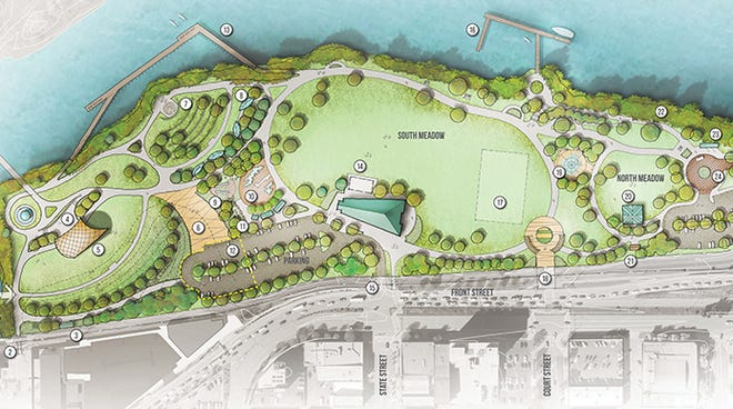 The city of Salem is updating the master plan for Riverfront Park.