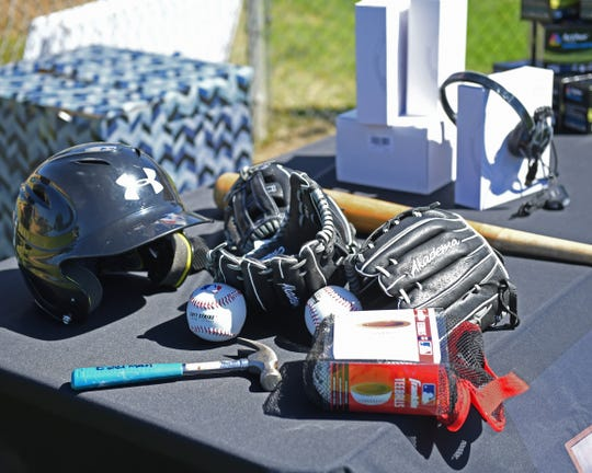 In addition to the STEM-related learning supplies Roosevelt Elementary School students received, they also got baseball equipment to improve their skills on the diamond.