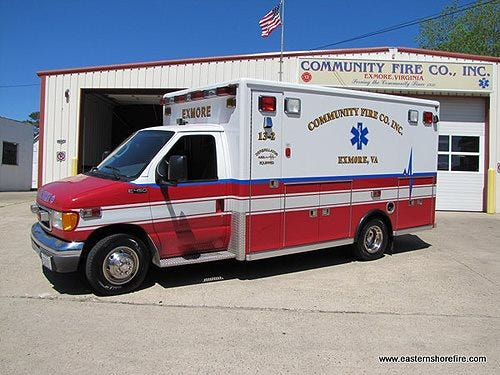 Community Fire Company in Exmore, Virginia was awarded a federal grant to help with recruitment.