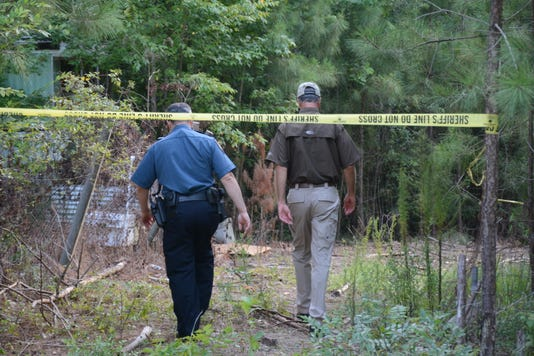 Search For Possible Human Remains