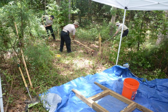 A tip received by the Red River Parish Sheriff's Office in July 2017 led Bossier and Red River detectives and deputies on a nearly three-day search in a wooded area just behind an abandoned trailer home off of Highway 507, about 11 miles south of Coushatta on Highway 71. No human remains were found.