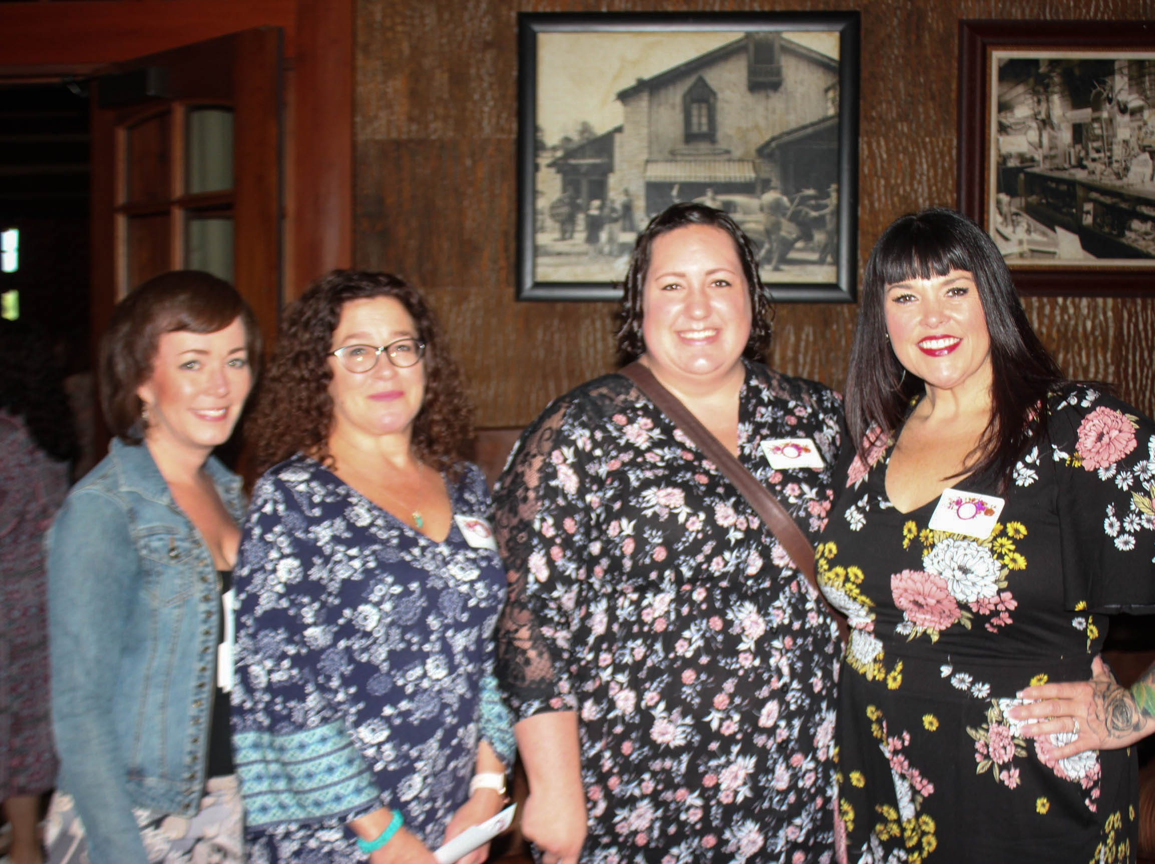 Dawn Clatchbaugh, Lisa Hamaker, Nicole Hagen, and Lou Rios