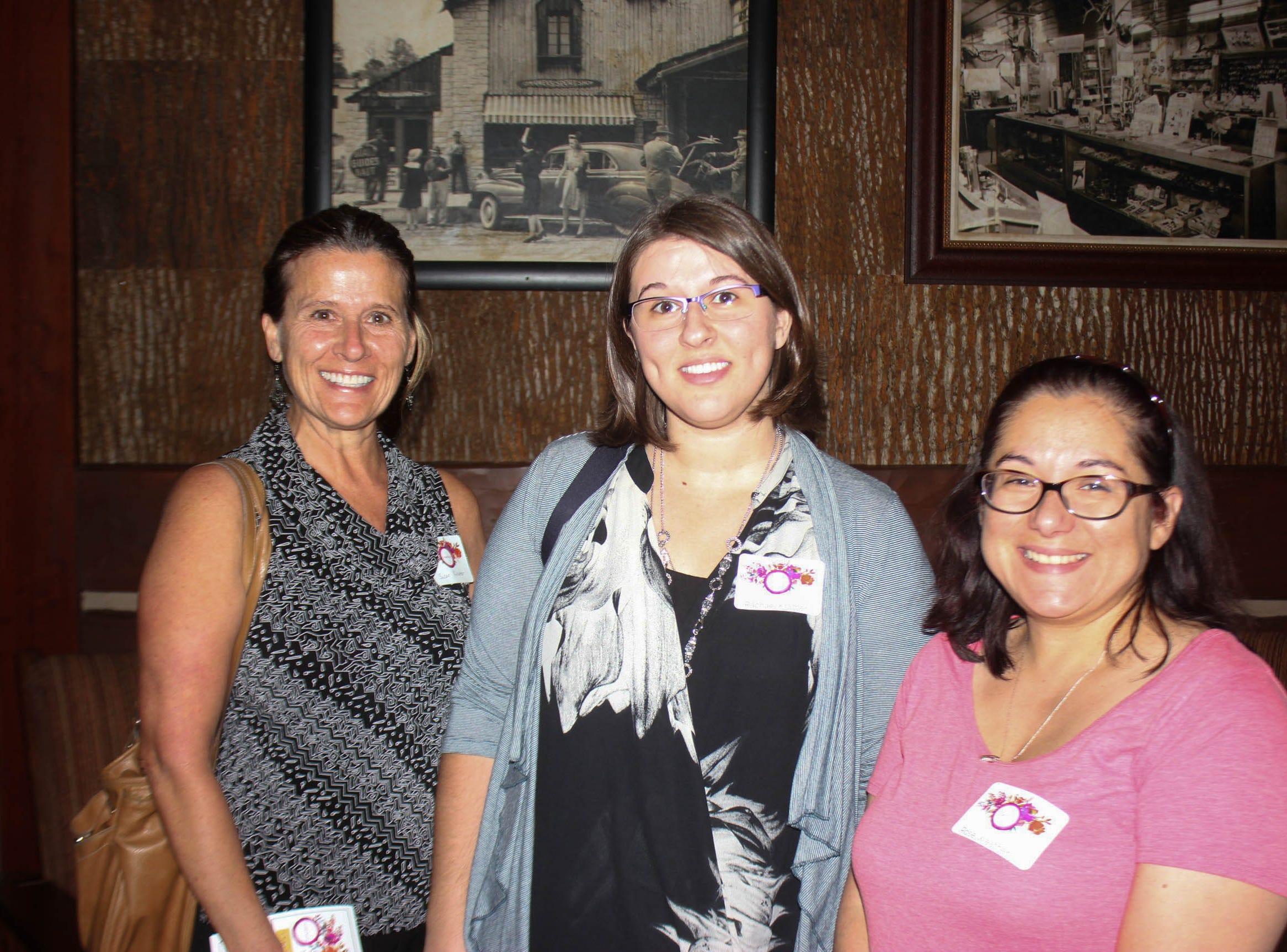 Susan Kramer,Rachel Kramer, and Rose Weatherly
