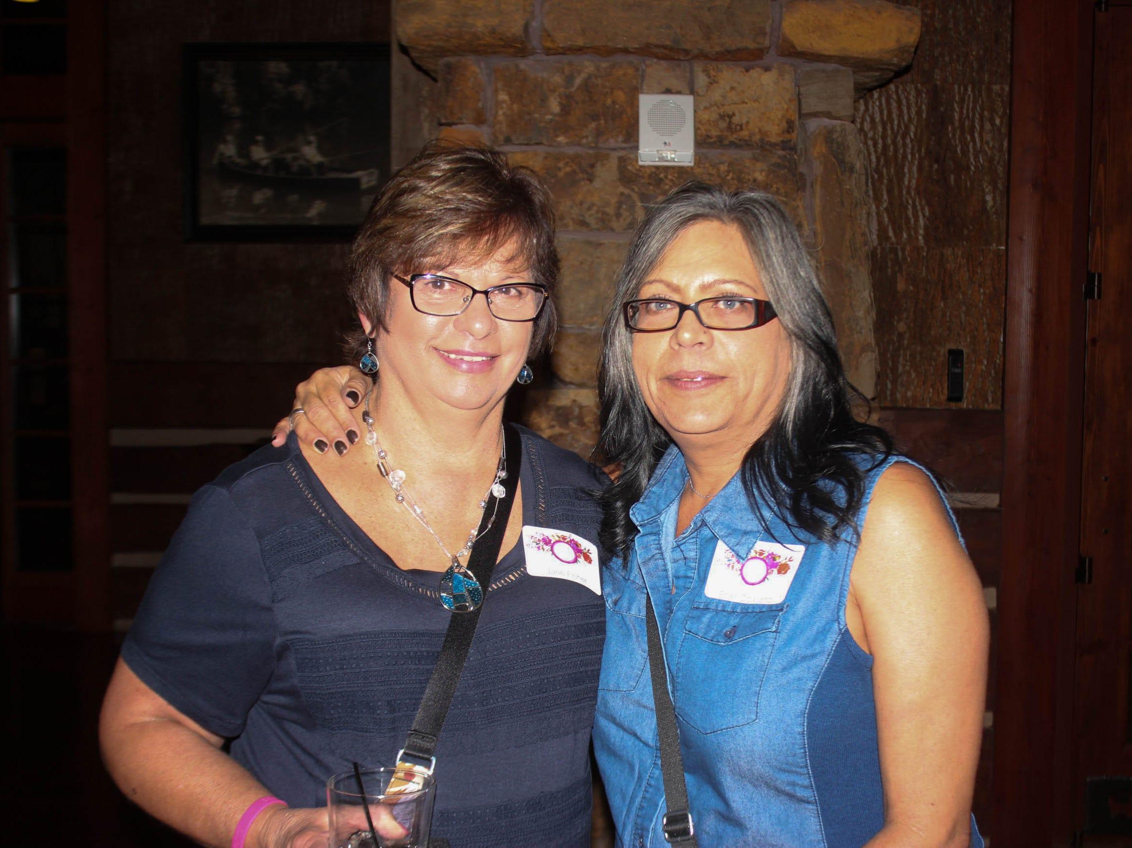 Jane Fisher and Sheri Dowland
