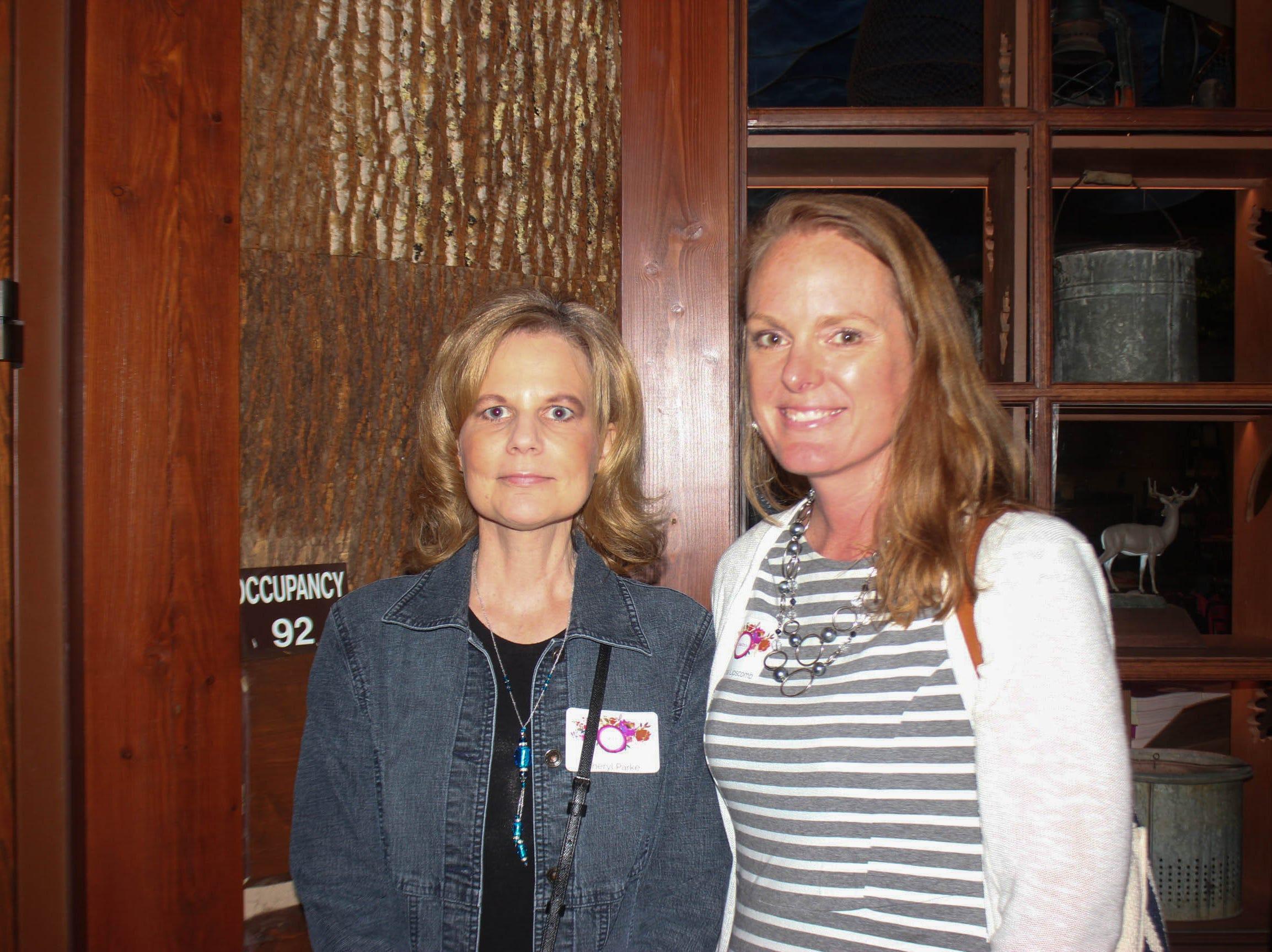 Cheryl Parke and Cynthia Lipscomb