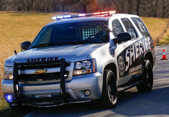 A file photo of a Greene County Sheriff's Office vehicle.