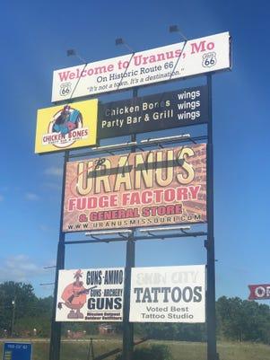 Uranus, Missouri in Pulaski County