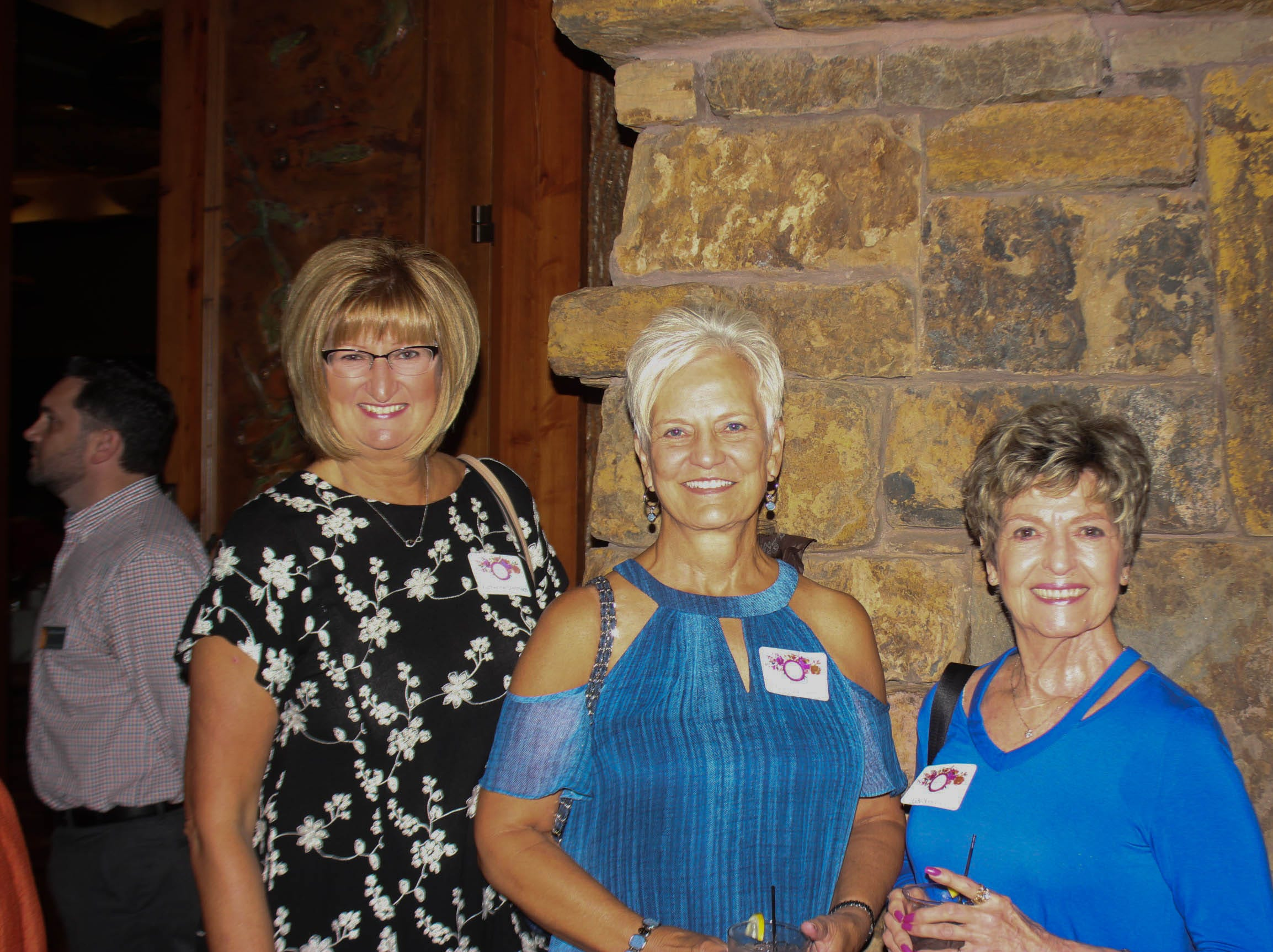 Kathy Stelmach, Donna Powers, and Judy Weekley