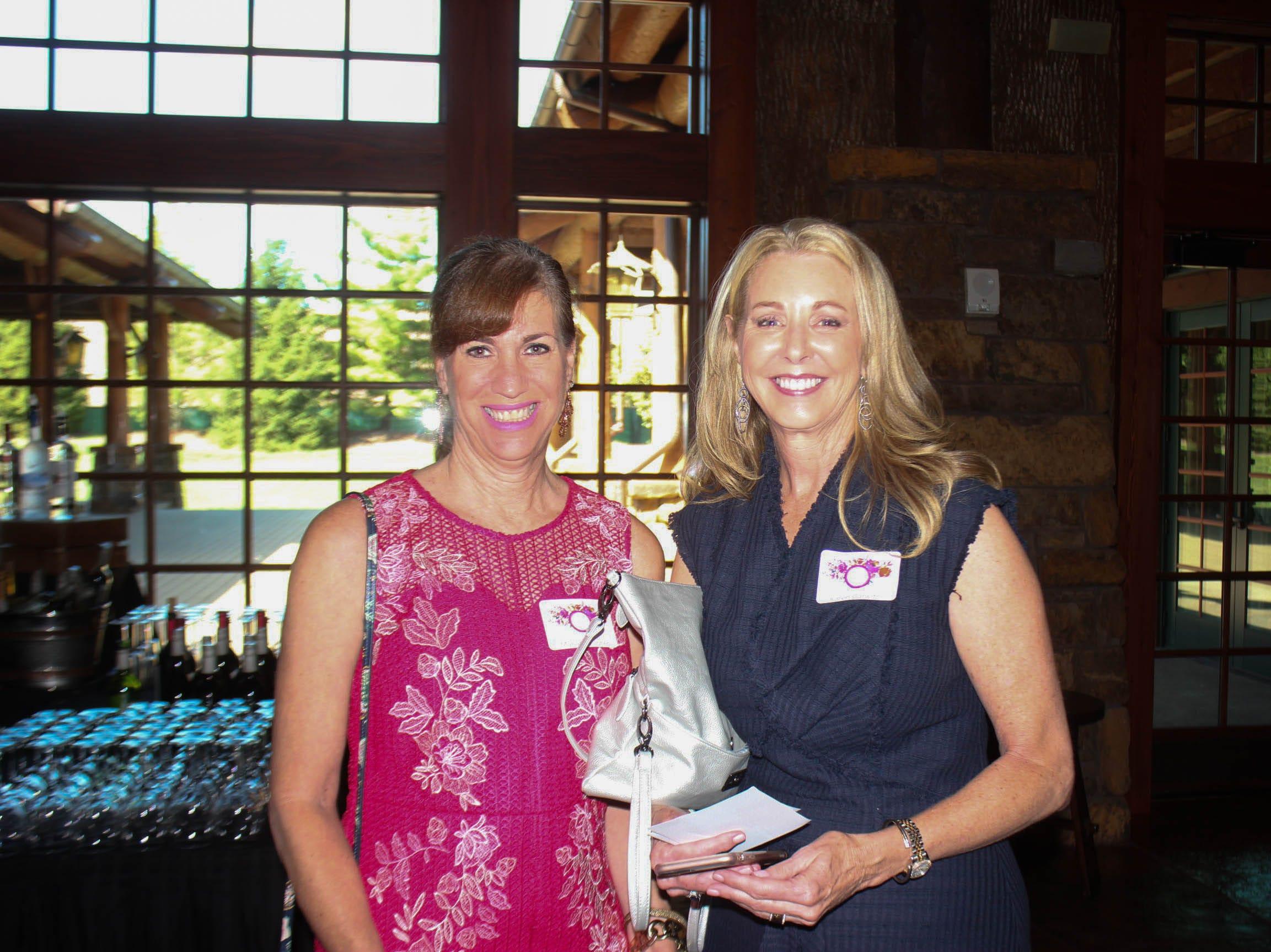 Marianne Jones and Karen Garwitz