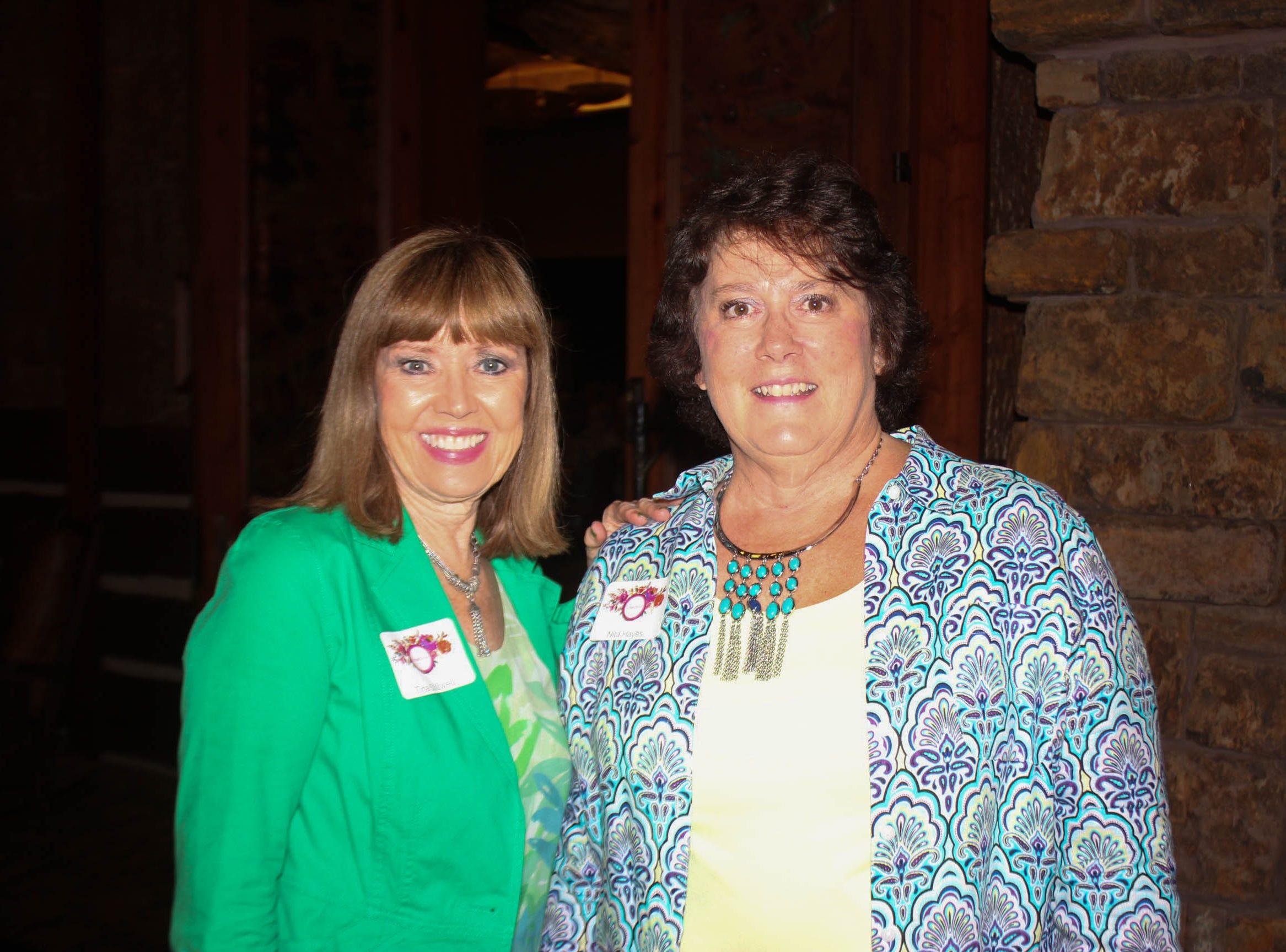 Tina Stillwell and Nila Hayes