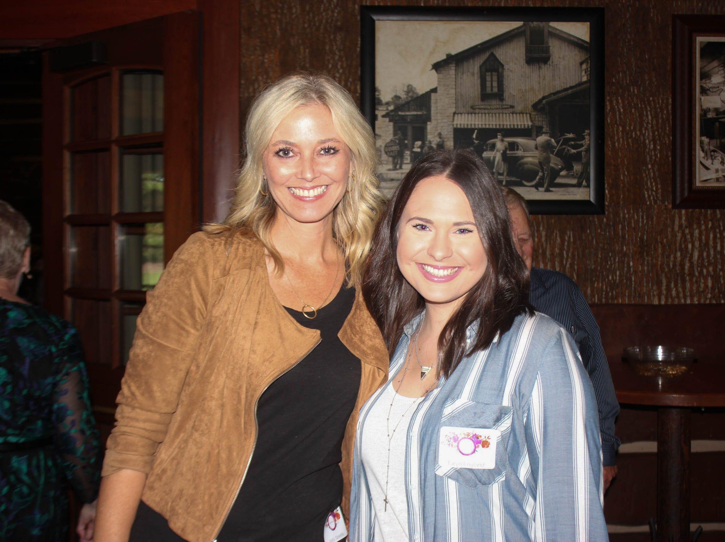 Kelly Strenfel and Taryn England