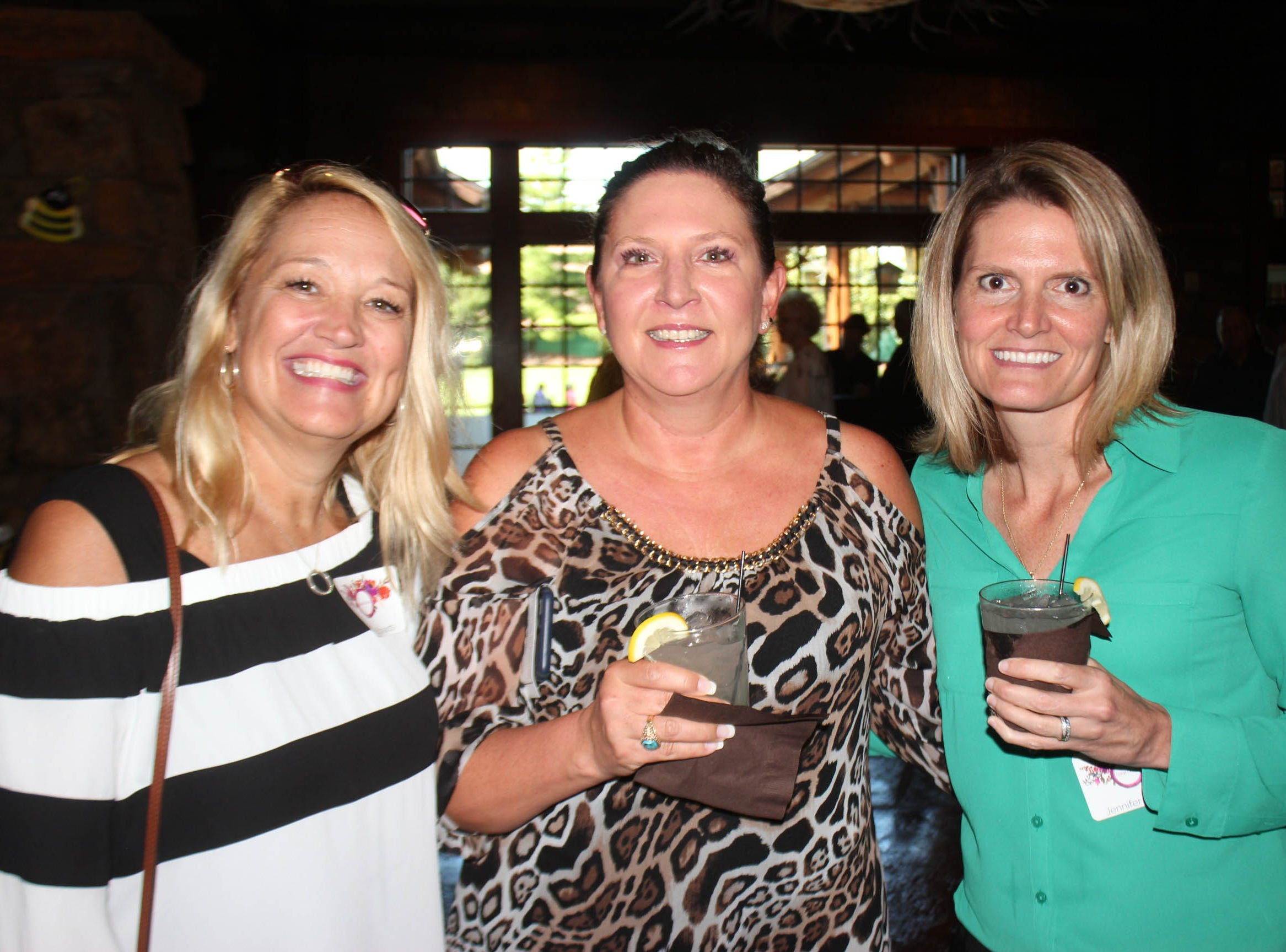 Jeanna Edwards, Beth Gibson, and Jennifer Danko