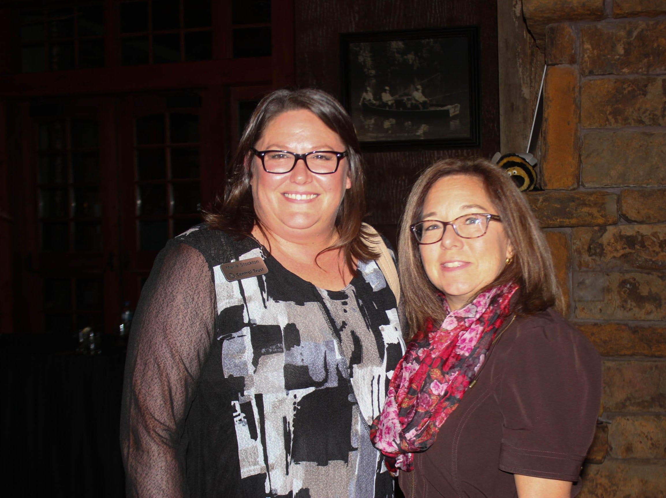 Maria Stockton and Patty Johns