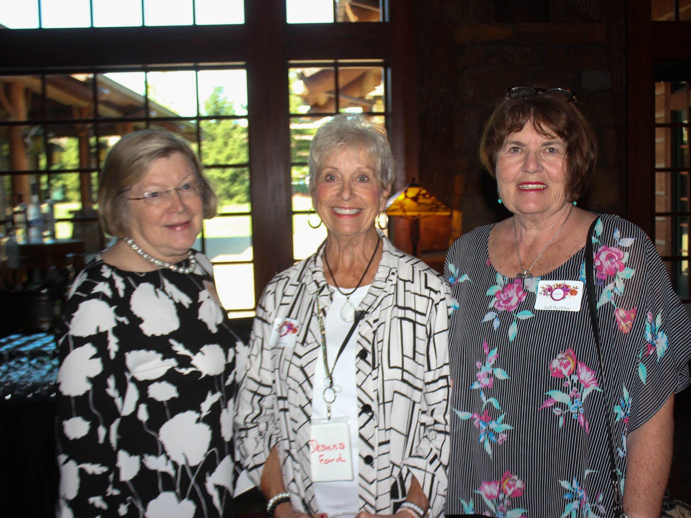 Kathy Griesmer, Deanna Ford, and Judy Ruzika