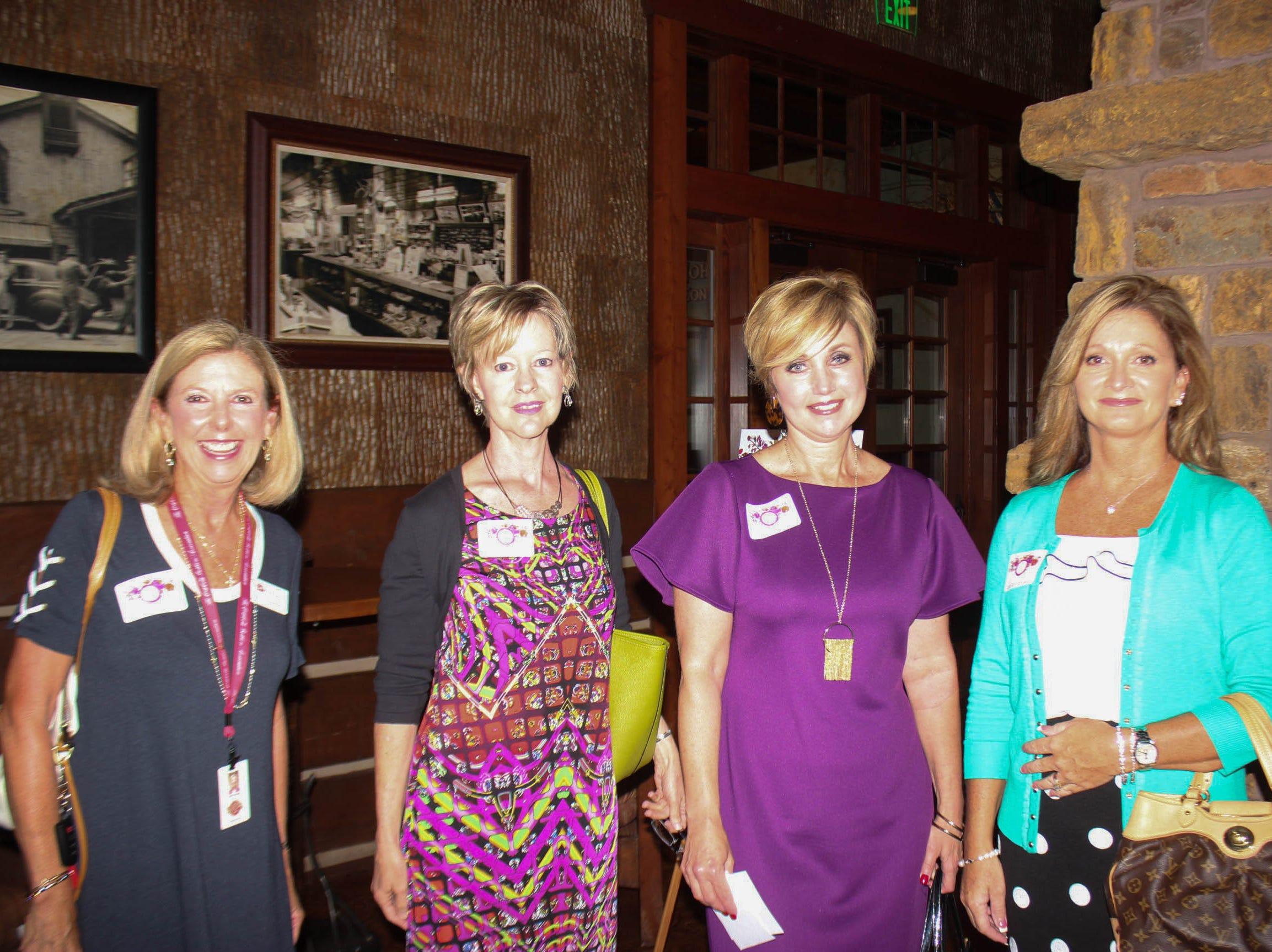 Sally Hargis, Ann Marie Baker, Shelly Addinston, and Lori Wanamaker