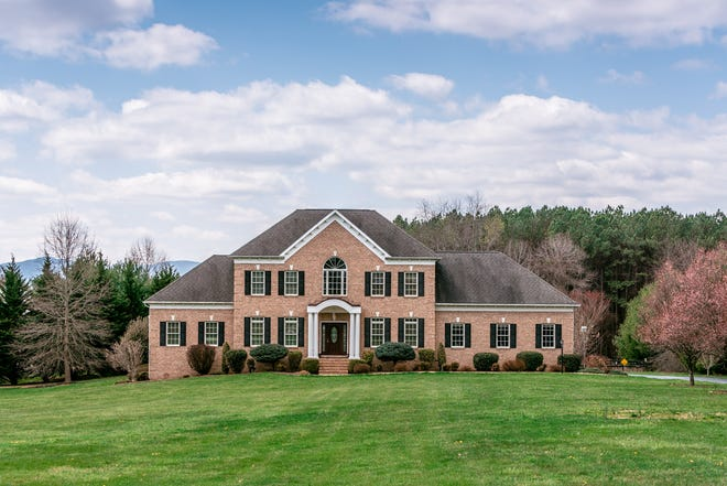 1301 Ladd Road outside of Waynesboro offers 5 acres and a 6-car garage.