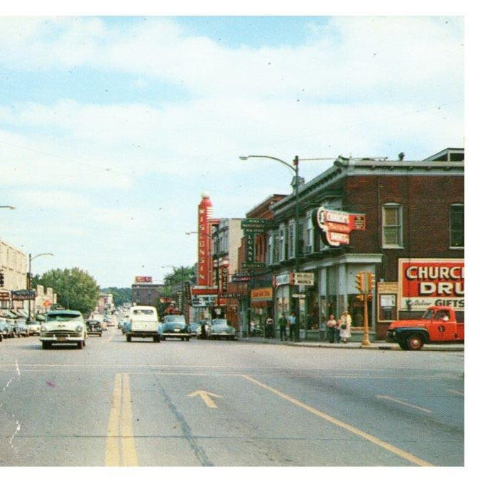 Downtown Wisconsin Rapids: A look back through history along West Grand Avenue