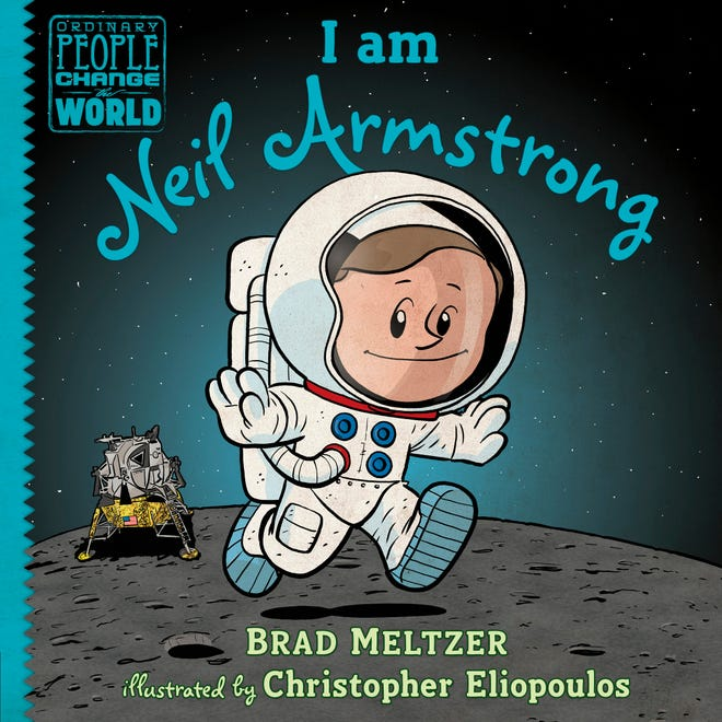 """""""I Am Neil Armstrong"""" is a children's book about Neil Armstrong's journey to the moon."""