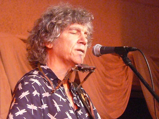 Rod McDonald stops on his way through town to play a Happy Hour set at 6 p.m. Friday at Blue Tavern.