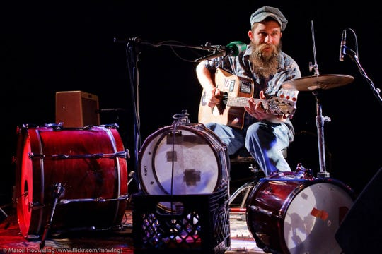 Florida-based one-man blues band Ben Prestage plays at 9 p.m. Saturday at Bradfordville Blues Club.