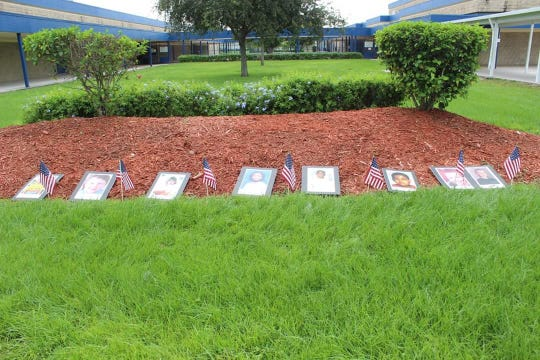 """Northport Media Center rededicated to eight children who perished on 9/11. The library is now """"Northport 9/11 Children's Memorial Library."""""""