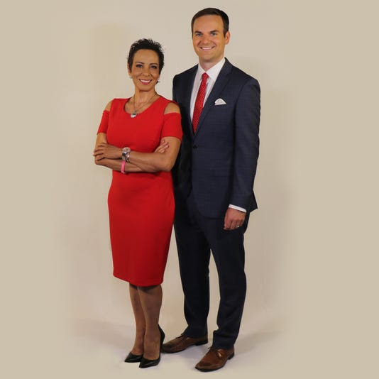 Erik Elken is the new co-anchor with Estela Casas for Channel 7-KVIA