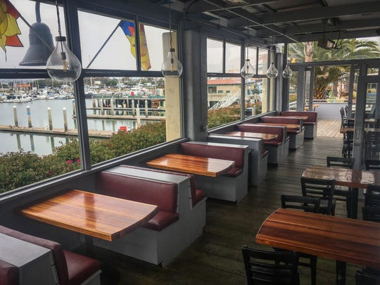Fratelli's Pizza & Brew is located in Ventura Harbor Village where diners get a view of the harbor whether they eat inside or outside.