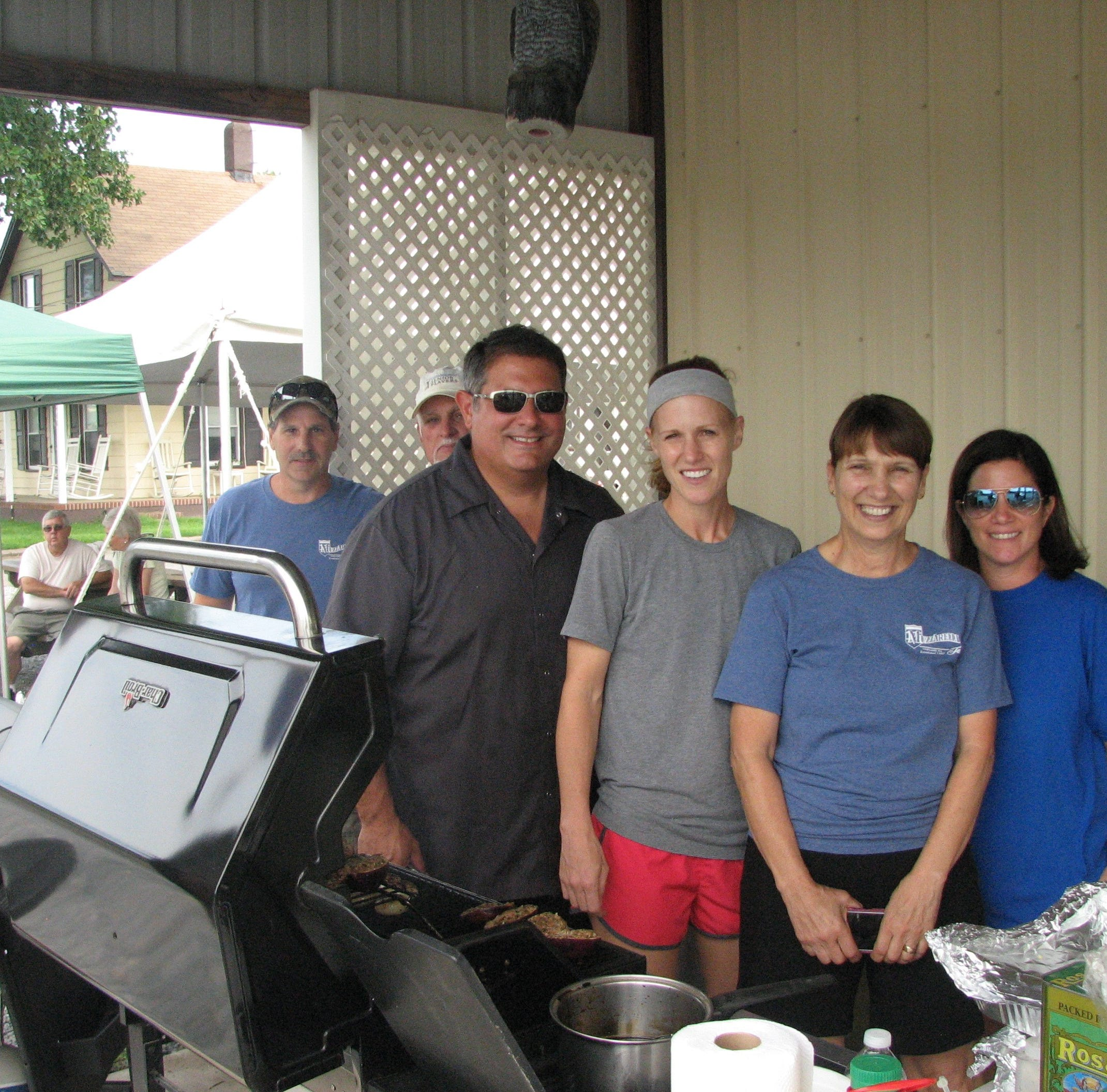 Muzzarelli Farms hosts grilling event
