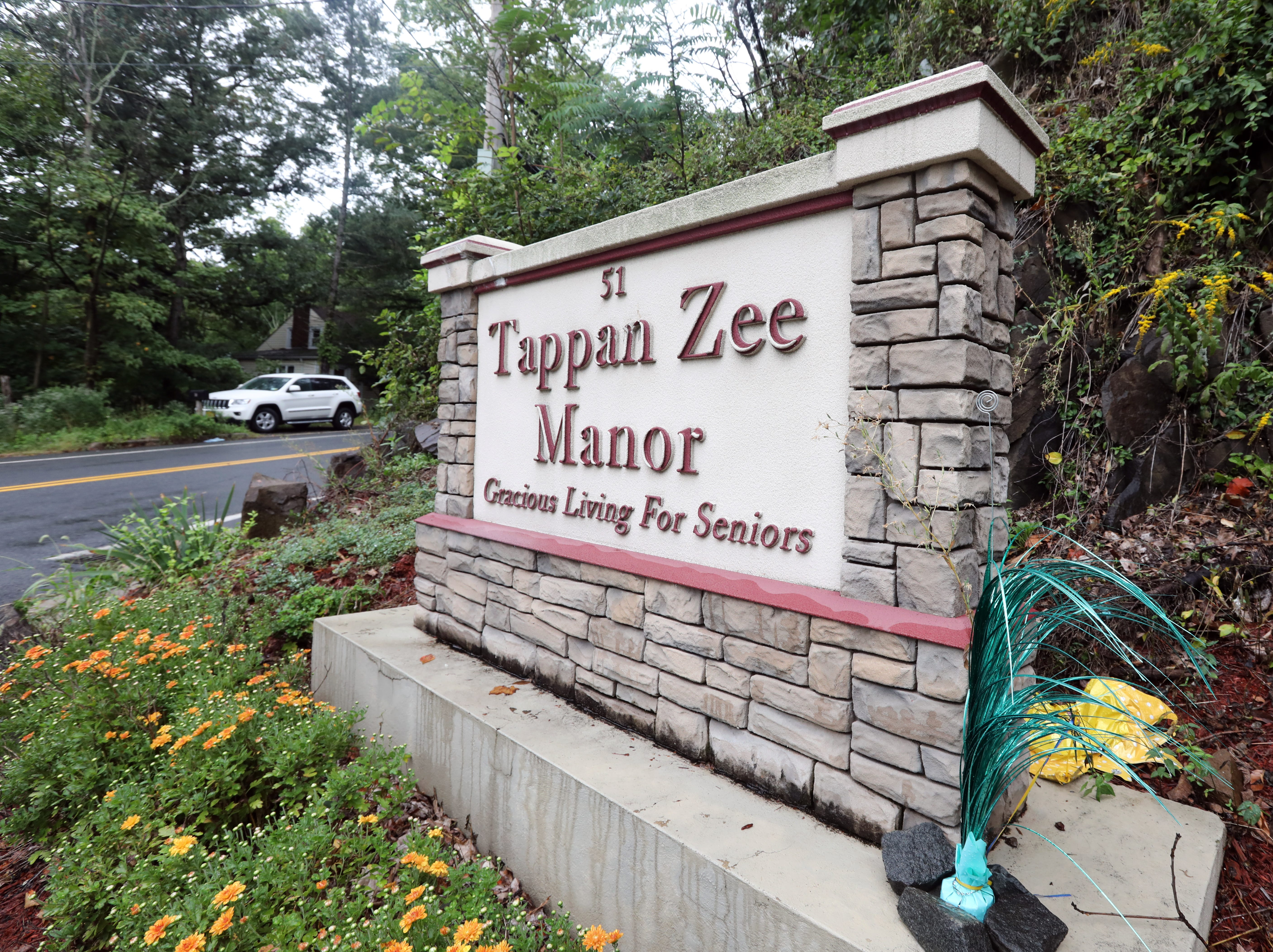 A sign on Christian Herald road for the Tappan Zee Manor in Nyack Sept. 12, 2018.
