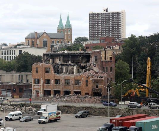 Yonkers Fire Headquarters Demolished