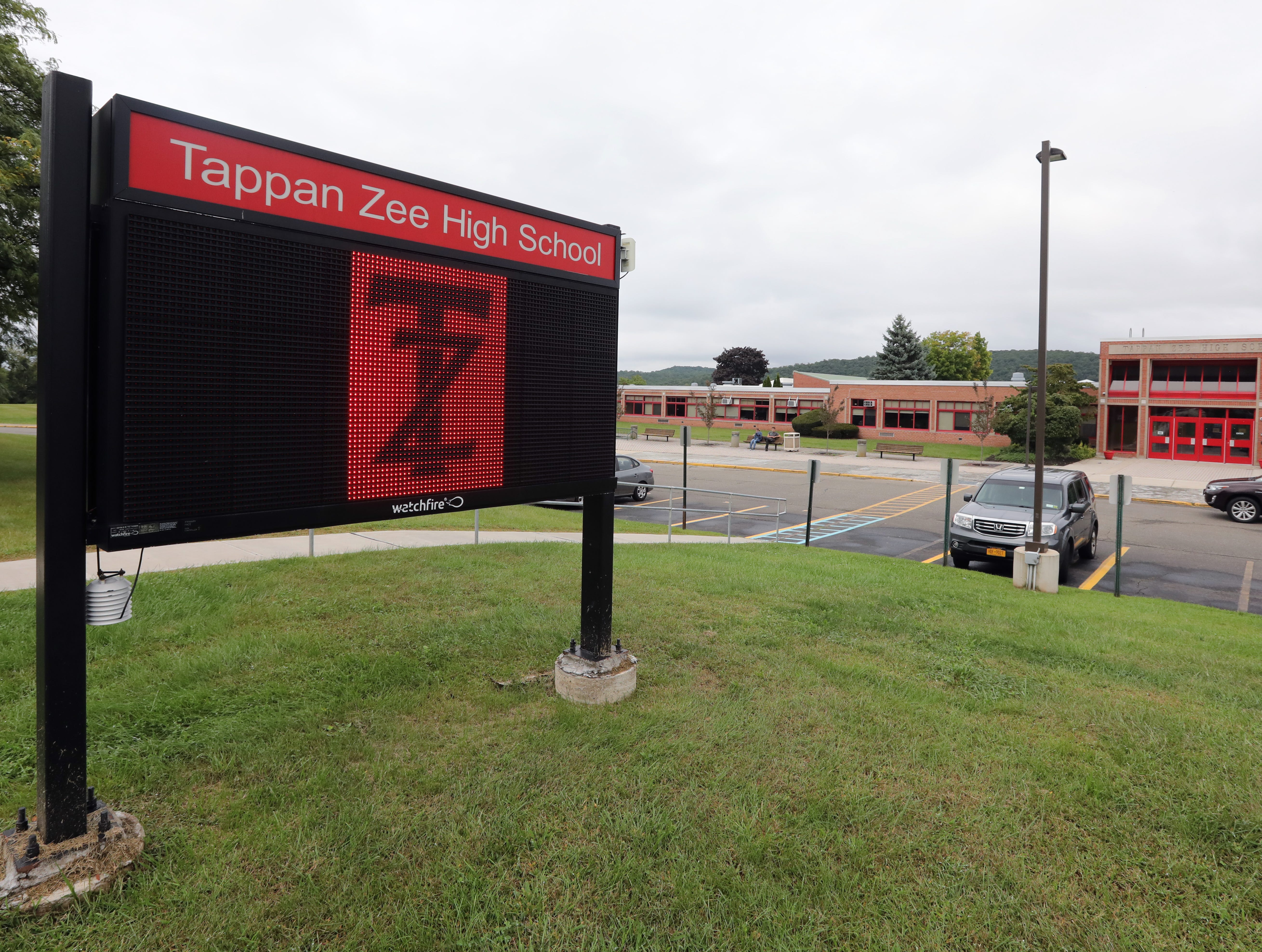 Tappan Zee High School in Orangeburg Sept. 12, 2018.