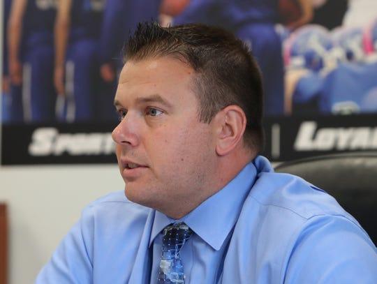 Section 1 executive director Todd Santabarbara