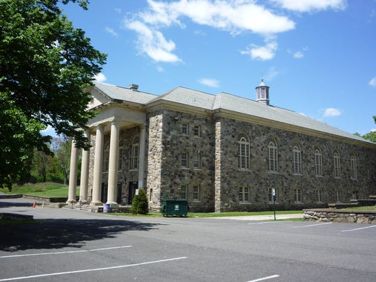 Kirkbride Hall in the Stony Point town-owned Letchworth Village property would be preserved under a potential development proposal.