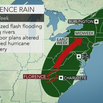Weather: 5 things to know about Hurricane Florence, weekend forecast