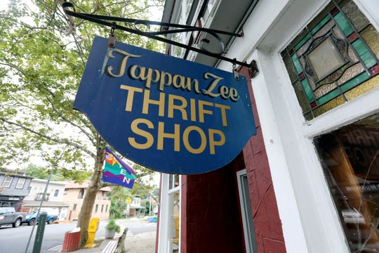 The Tappan Zee Thrift Shop in Piermont Sept. 13, 2018.