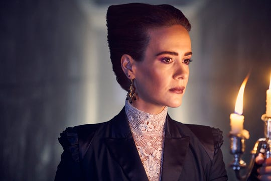 """American Horror Story: Apocalypse,"" starring Sarah Paulson, is one of the most popular TV series among same-sex couples, according to  Nielsen's first measurement of their viewing habits."