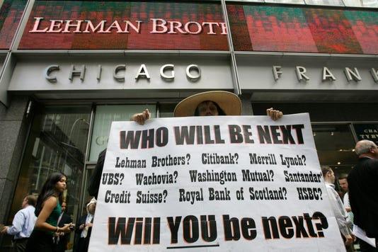 Ap Lehman Brothers Bankruptcy F A Usa Ny