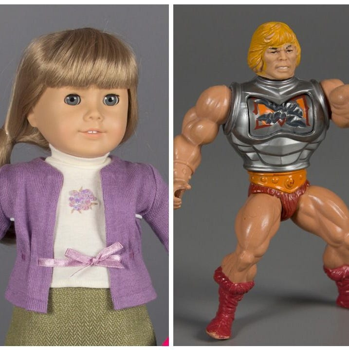American Girl Dolls, He-Man and Tickle Me Elmo are among the finalists for induction into the National Toy Hall of Fame induction.