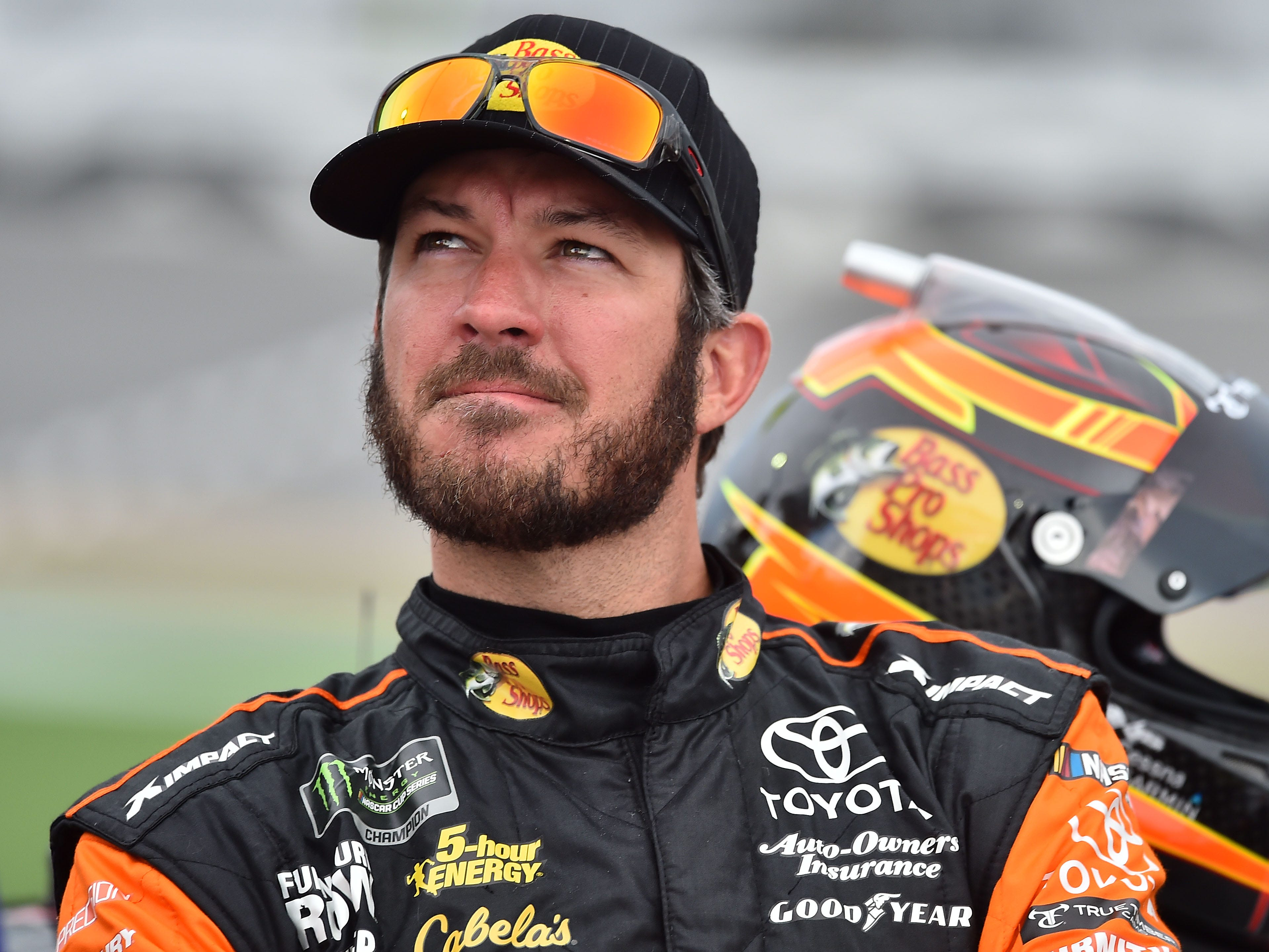 2. Martin Truex Jr., 5,035 points.