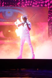 Violinist Brian King Joseph performs during Tuesday's semifinals round on NBC's 'America's Got Talent.'