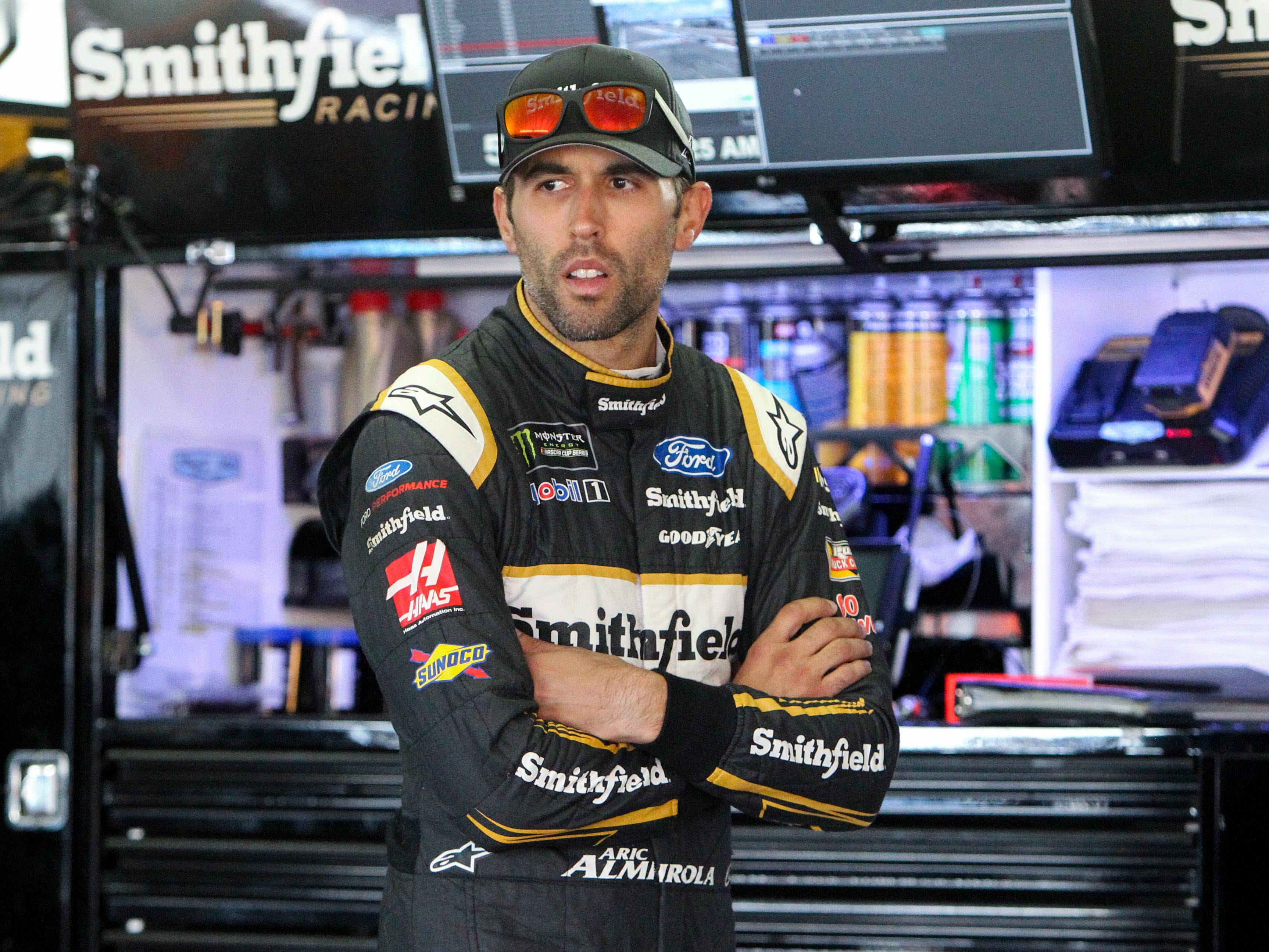 5. Aric Almirola, 2,354 points (eliminated from playoffs after Race No. 9 at Phoenix).