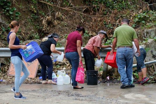Hurricane Maria's water crisis