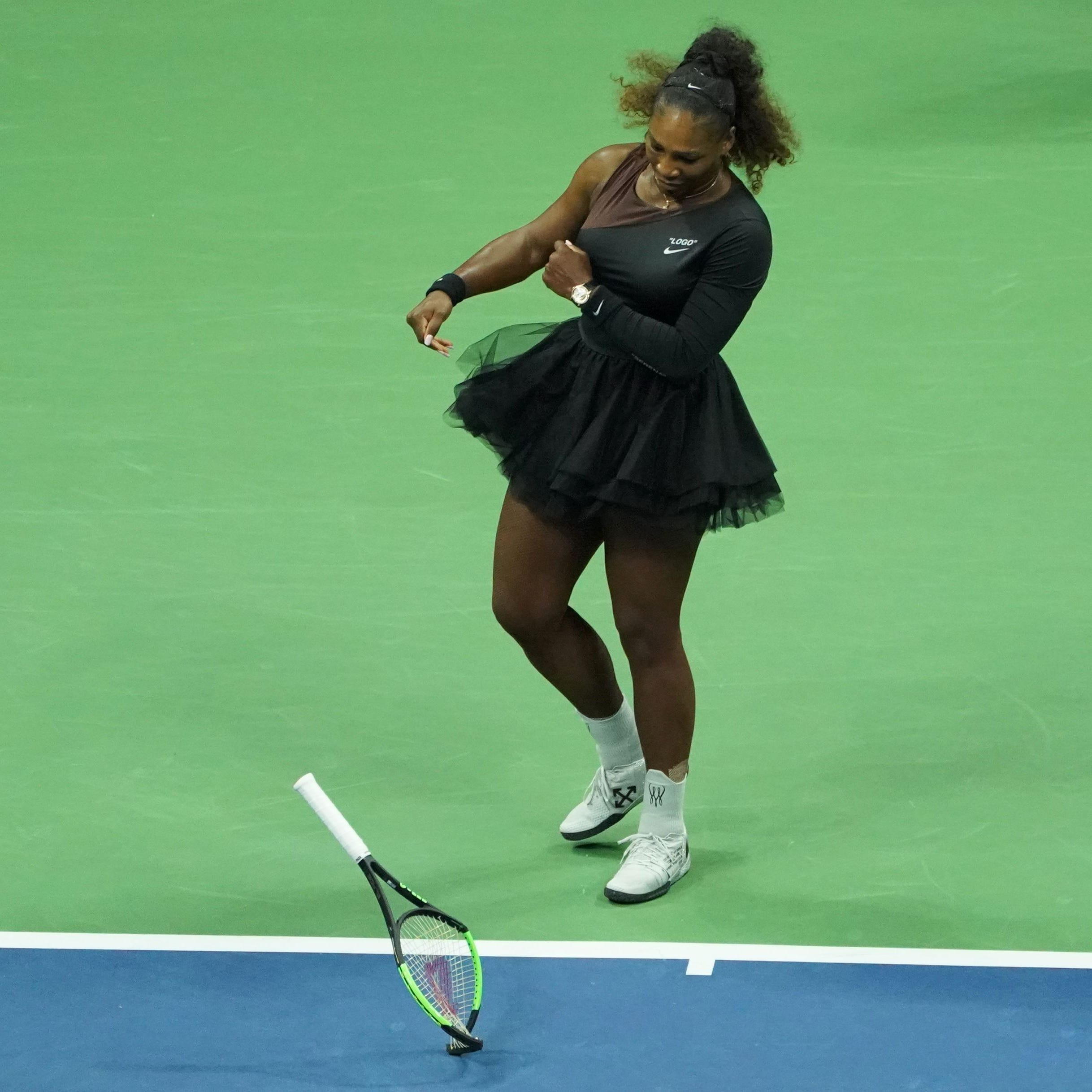 Show put on by Serena Williams has no place in a game of honor
