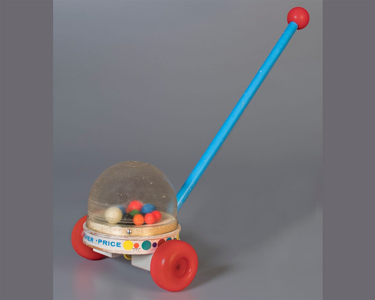 Get a look inside the virtual Fisher-Price Toy Museum on Instagram
