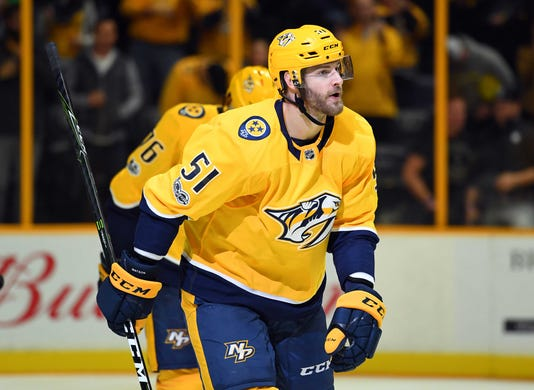 Usp Nhl Colorado Avalanche At Nashville Predators S Hkn Nsh Col Usa Tn