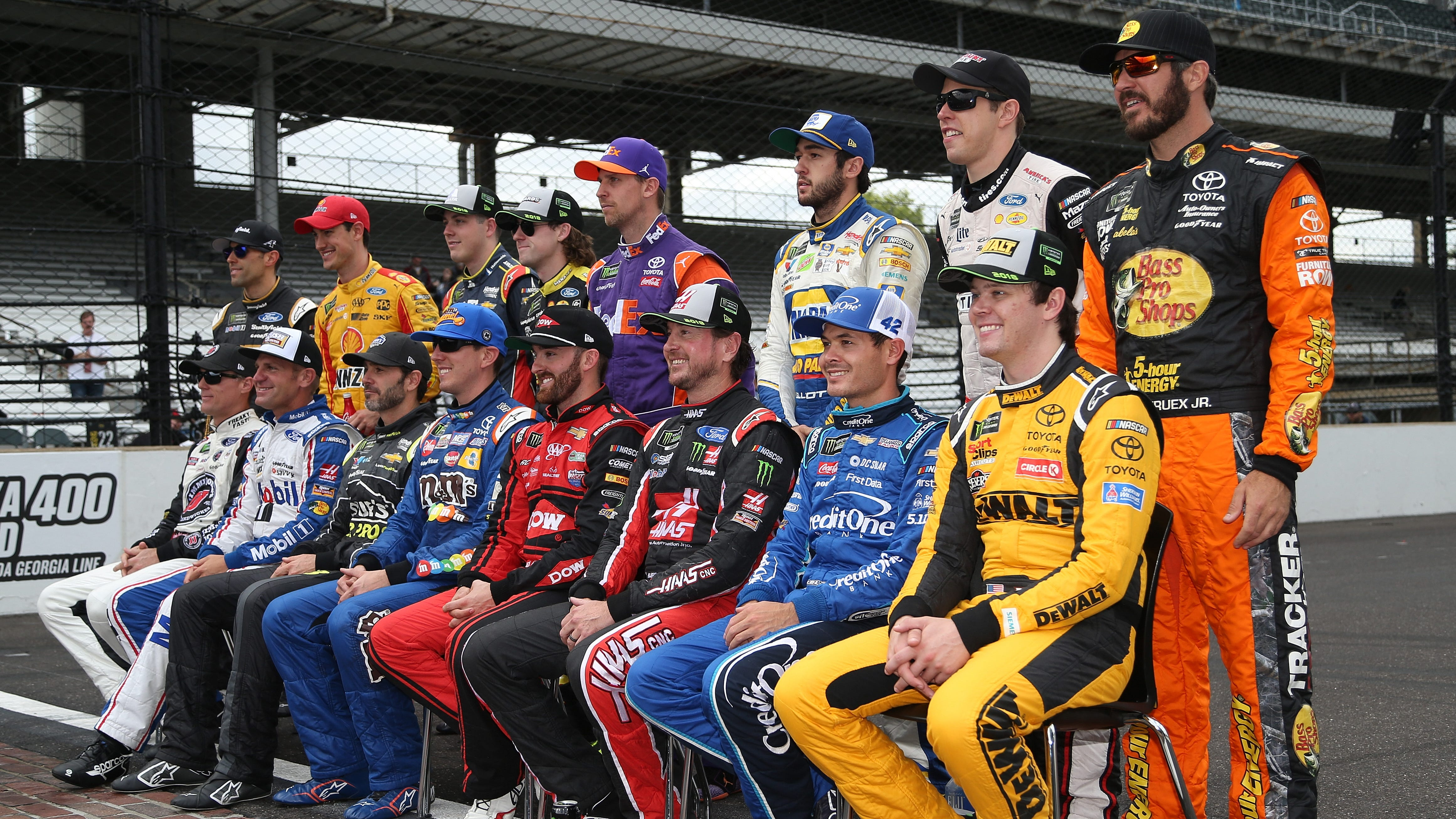 2018 NASCAR Cup Series Playoff drivers, standings, points