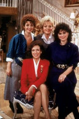"""Annie Potts, left, Dixie Carter, Jean Smart and Delta Burke starred in the original edition of the CBS comedy, """"Designing Women."""" Creator Linda Bloodworth Thomason is writing a script for a sequel series."""