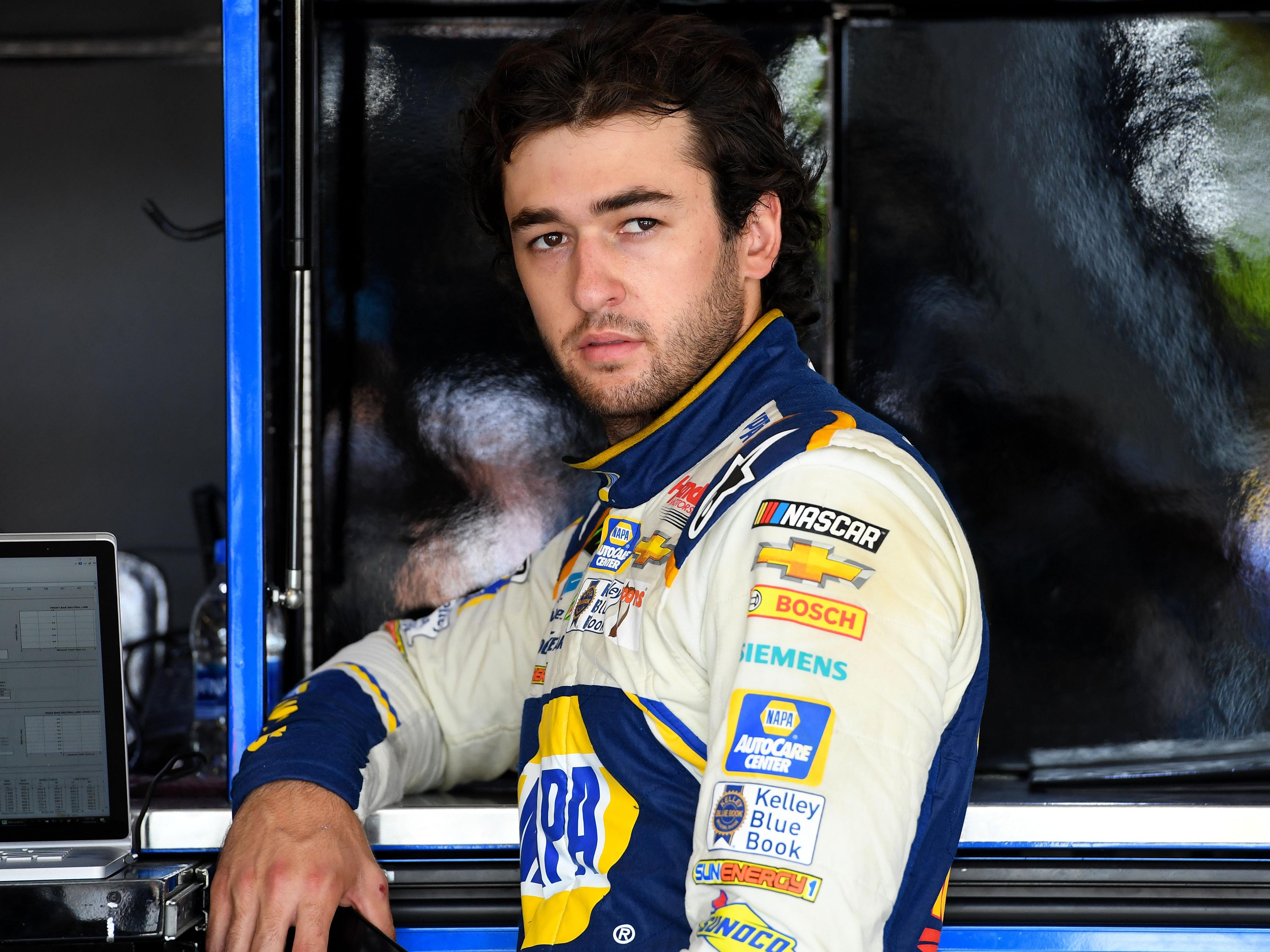 6. Chase Elliott, 2,350 points (eliminated from playoffs after Race No. 9 at Phoenix).