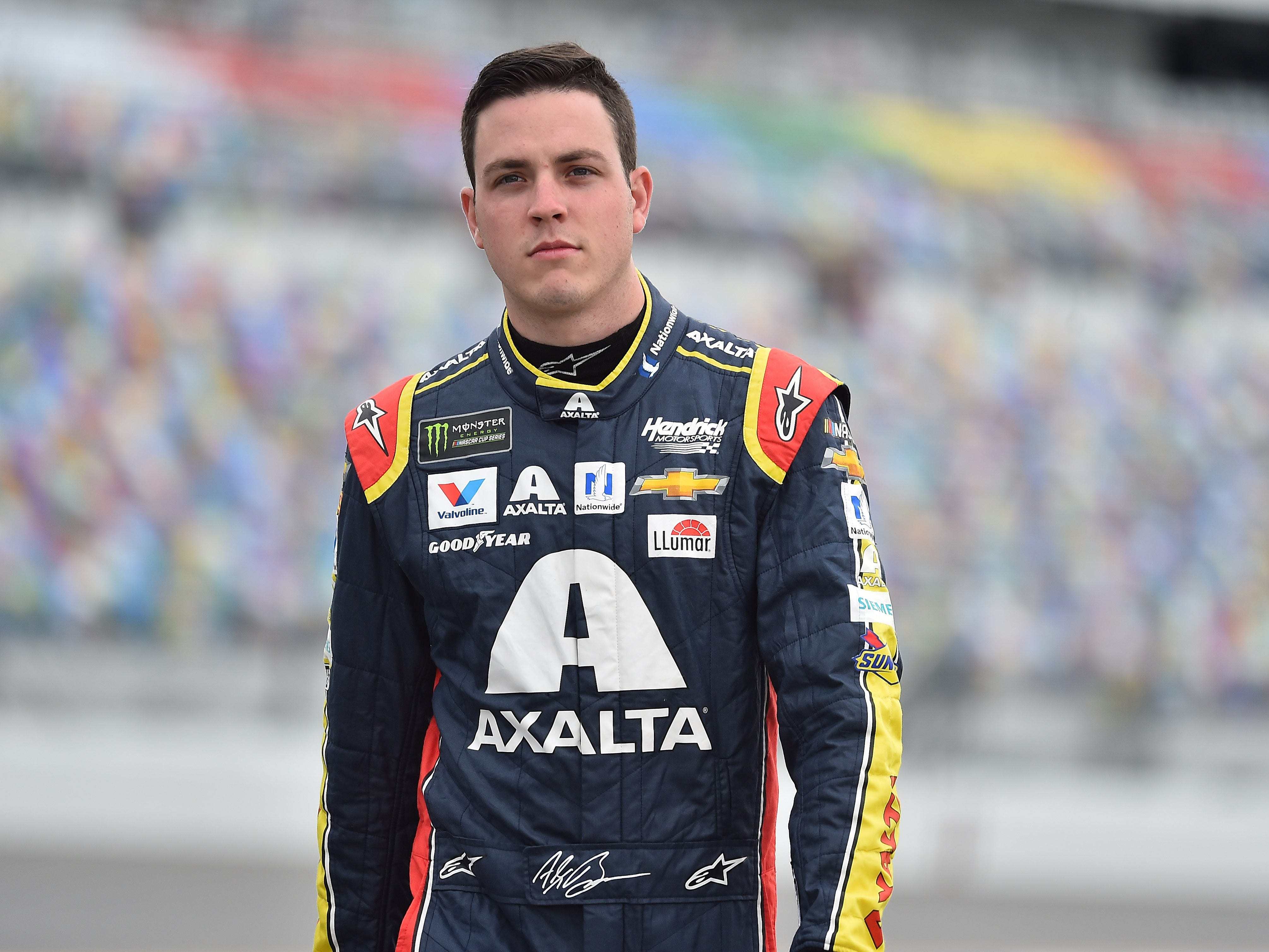 16. Alex Bowman, 2,204 points (eliminated from playoffs after Race No. 6 at Kansas).