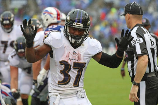 Then Ravens running back Javorius Allen only totaled 32 yards from scrimmage in Week 1, but he had a rushing touchdown and five receptions.